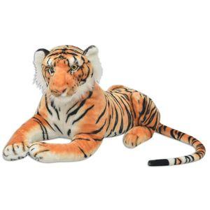Tiger Plüschtier Braun XXL