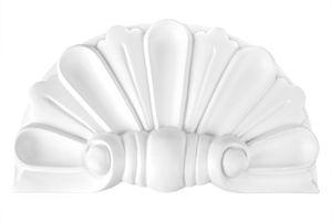 Bekrönung | Türrahmen | Auswahl | Giebel | Ornamente | Polyurethan| D481, Grand Decor Türrahmen:Ornament D484 - 135 x 235 x 30 mm