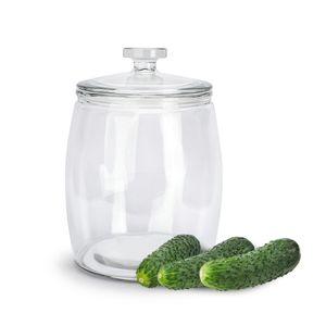 EINMACHGLAS 9,5 L Vorratsglas Einweckglas Gurkenglas Glas