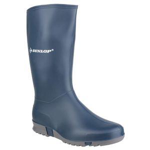Dunlop K254711 Sport Kinder Gummi Stiefel / Jungen Stiefel / Mädchen Stiefel FS1140 (31 EUR) (Blau)