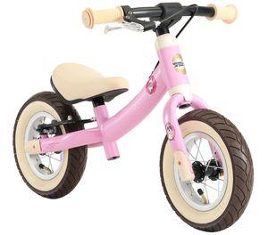 BIKESTAR Mitwachsendes Kinder Laufrad ab 2 - 3 Jahre | 10 Zoll Sport Lauflernrad | Rosa Einhorn