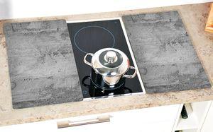 KESPER 2 x Multi-Glasschneideplatte, Motiv: Beton 36540