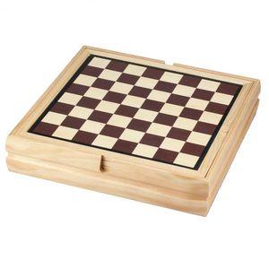 Philos 3102 - Holz-Spielesammlung mit 100 Spielmöglichkeiten 4014156031029