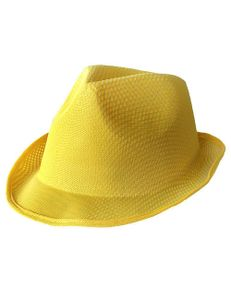 Trilby Hut Partyhut gelb
