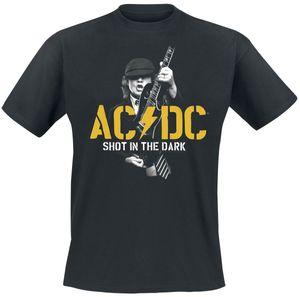 """AC/DC Herren-T-Shirt  """"Shot In The Dark """"   PWR / UP 002  Gr. 2XL"""