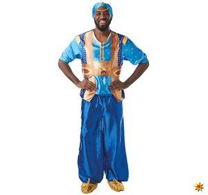 Herren Kostüm Disney Aladdin Dschinni Geist aus der Lampe, Größe:XL