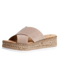 s.Oliver Damen Sandalette beige 5-5-27202-26 Größe: 40 EU