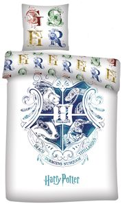 Carbotex bettbezug Harry Potter 140 x 200 cm Mikrofaser weiß