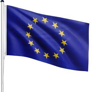 FLAGMASTER® Aluminium Fahnenmast Europa 6,50m