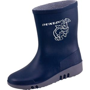 Dunlop Kinderstiefel Mini blau/grau Gr. 20