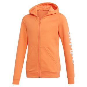 Adidas Essentials Linear Semi Coral / White 116 cm