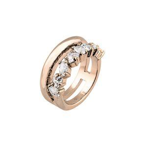 Joop Damen Ring Edelstahl Rosé Simply Modern JPRG00007C1, Ringgröße:57 (18.1 mm Ø)