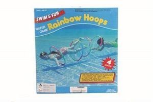 Tauchringe 4 Stück Durchmesser 56cm Rainbow Hoops