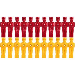 TUNIRO® Tischfussballfiguren für Vollstangen ausbalanciert
