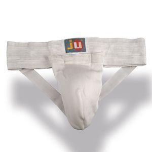 Ju-Sports Tiefschutz, Stoff, weiß Größe - S