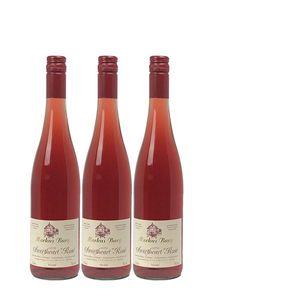 Rosé Mosel Weingut Markus Burg Qualitätswein Sweetheart lieblich und vegan (3x0,75l)