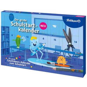 Pelikan Schulstartkalender 2021 mit 15 Türchen