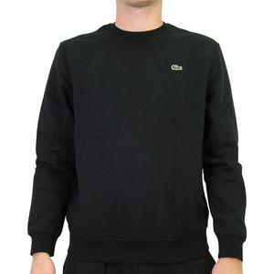 Lacoste Fleece-Sweatshirt Herren Schwarz (SH1505 C31) Größe: 5 (L)