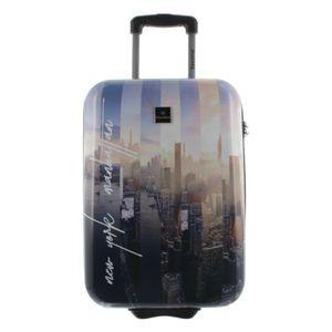 Saxoline Koffer Spinner mit Zahlenschloss Gr. S New York-Manhatten
