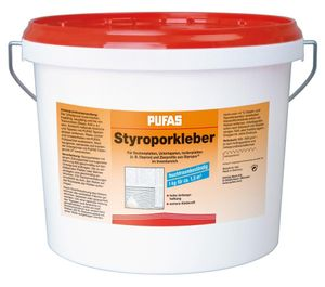 PUFAS Styropor- und Renoviervlies-Kleber - 14kg