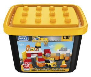Mega Bloks CAT Baustelle (60 Teile)