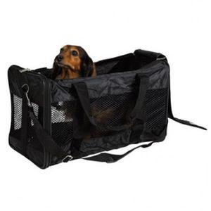 TRIXIE Haustier-Tragetasche Ryan Polyester 30x30x54 cm Schwarz 28851