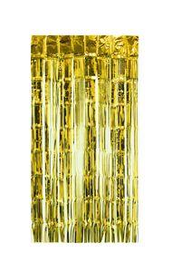 Lametta Vorhang 50x100cm, Farbauswahl:gold