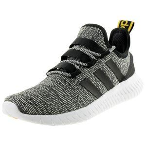 adidas Performance Herren-Freizeit-Fitness Sneaker Schuhe KAPTIR grau schwarz, Größe:43
