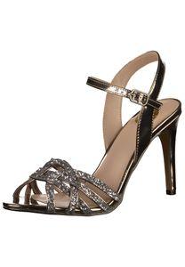 BUFFALO Damen Sandale Sandalette Sommerschuhe beige 1291041 : 39