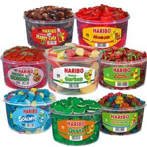 Haribo Aktionspaket Eine Mischung aus verschiedenen Dosen 10005g