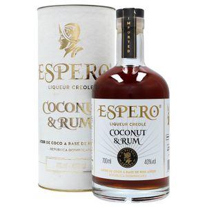 Espero Coconut & Rum 0,7l, alc. 40 Vol.-%, Rum-Likör Dominikanische Republik