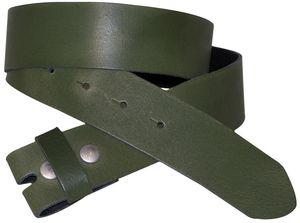 FRONHOFER Wechselgürtel 3,5 cm, Gürtel ohne Schnalle, Gürtel mit Druckknopf 18352, Körperumfang 105 cm