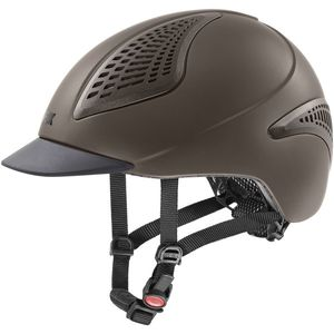 UVEX Reithelm EXXENTIAL II VG1, mocca, M-L (57-59 cm)