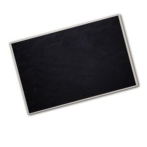 Tulup® Glas Herdabdeckplatte -  80x52 cm  - Ceranfeldabdeckung Spritzschutz Glasabdeckplatte  - Einteilig- Kunst: modern & klassisch - Schwarzes Brett - Schwarz