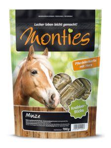 Monties Pferdesnacks Minze Sticks 700g