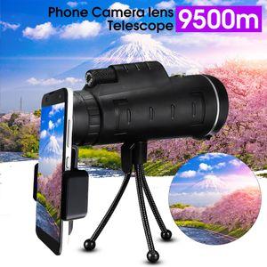 40X60 HD Monokulares Mobiles Teleskop Nachtsicht-Teleobjektiv