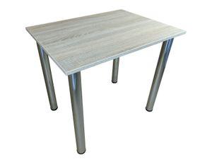 Esszimmertisch - Esstisch - Tisch - Küchentisch - Bürotisch  - Sonoma, 80cm x 60cm
