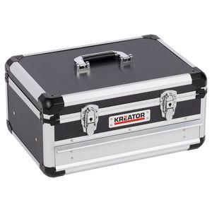 Werkzeugkoffer leer, integrierte Schublade + Tragegurt