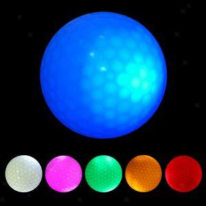 Miixia 6 Stücke Leuchtend Golfball LED Golfbälle Golfgeschenke