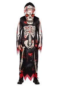Herrn Kostüm Zombie Skelett Gewand Maske Halloween