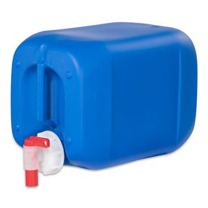 5 Liter 5 L Kanister Wasserkanister Campingkanister Farbe blau DIN51 + Hahn (5knb51 + H.51)