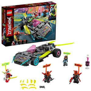 LEGO 71710 NINJAGO Ninja-Tuning-Fahrzeug mit Waffen und Klingen, Bauset, Prime Empire Rennfahrzeuge
