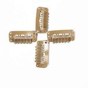 Ersatzclips, Farbe:clips hellbraun