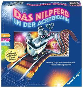 Ravensburger® Spiele - Das Nilpferd in der Achterbahn