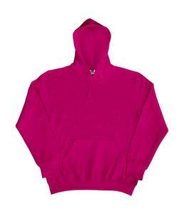 SG Herren Hooded Sweatshirt Pullover Kapuzenpullover Hoodie, Größe:L, Farbe:Dark Pink