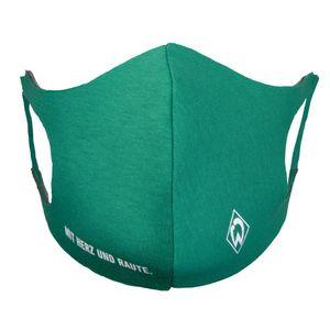 SV Werder Bremen Maske Mit Herz&Raute grün
