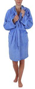 "Betz Kinder Bademantel ""STYLE"" mit Kapuze Kinderbademantel Farbe hellblau Größe - 152"