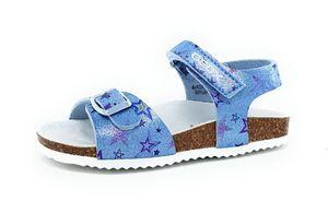 Geox Adriel Mädchen Sandale in Blau, Größe 30
