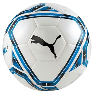 Puma Team Final 21.5 Fußball Hybrid Größe 5 weiß-blau