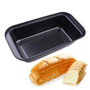 Rechteckige Toast box,25 x 13 x6 cm,No-Stick Kohlenstoffstahl Toast Pan-Brot Form Backformen Rechteckigen Kuchen Brot Laib Pan Backform Küche Cupcake Tools